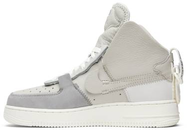 Psny X Air Force 1 High Matte Silver Nike Ao9292 001 Goat