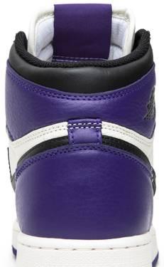 c33b43b1fb5 Air Jordan 1 Retro High OG GS 'Court Purple' - Air Jordan - 575441 ...