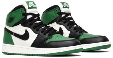 9e3f83f5356131 Air Jordan 1 Retro High OG GS  Pine Green  - Air Jordan - 575441 302 ...