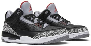 pretty nice c6d38 1f68e Air Jordan 3 Retro OG 'Black Cement' 2018