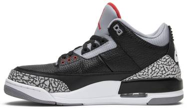 pretty nice a5cd2 7ddec Air Jordan 3 Retro OG 'Black Cement' 2018