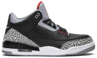 brand new 112ba 8a6d0 Air Jordan 3 Retro OG  Black Cement  2018