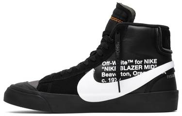 b296db7786760 OFF-WHITE x Blazer Mid 'Grim Reapers' - Nike - AA3832 001 | GOAT