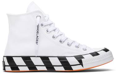c50a1806a4a OFF-WHITE x Chuck 70  White  - Converse - 163862C