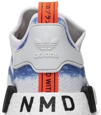 timeless design 2c571 5ada9 NMD_R1 'Stencil Pack - Bold Blue' - adidas - G27916   GOAT