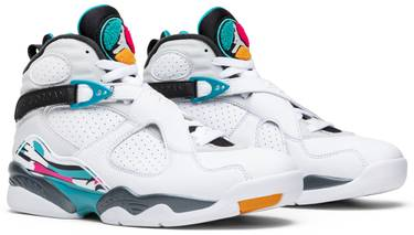 new concept 2f84e 28e4f Air Jordan 8 Retro  South Beach