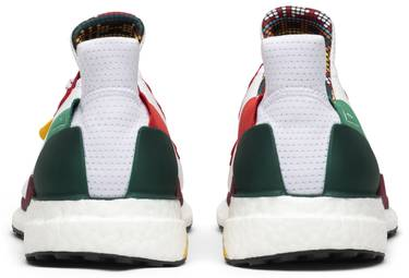 5097d61a9 Pharrell x Wmns Solar Hu Glide  Cloud White . Pharrell Williams adds to his  collection with adidas ...