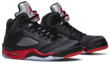 9eb4d0ab851 Air Jordan 5 Retro 'Satin Bred' - Air Jordan - 136027 006 | GOAT