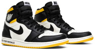 wholesale dealer a9d79 2a04a Air Jordan 1 Retro High OG NRG 'Not For Resale'