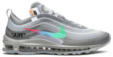 the best attitude 2b9e8 a8972 OFF-WHITE x Air Max 97 'Menta'