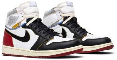 buy online 8f1af ab16e Union x Air Jordan 1 Retro High 'Black Toe'