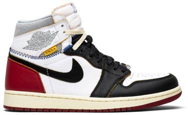buy online 6e7e1 08f6e Union x Air Jordan 1 Retro High 'Black Toe'