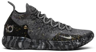 739240a4b3c5 Zoom KD 11  Gold Splatter . Kevin Durant s 11th signature silhouette with  Nike ...