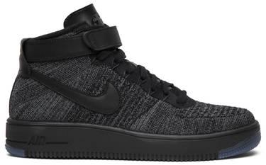 323a2704856e Air Force 1 High Ultra Flyknit  Dark Grey  - Nike - 817420 001