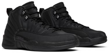 pretty nice 54e8a c4127 Air Jordan 12 Retro Winterized 'Triple Black'