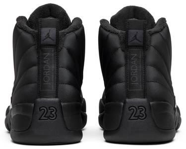 pretty nice 5d609 0d2e5 Air Jordan 12 Retro Winterized 'Triple Black'