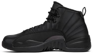 pretty nice 3bfb4 f9e3a Air Jordan 12 Retro Winterized 'Triple Black'