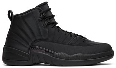 9ba73205bc9a Air Jordan 12 Retro Winterized  Triple Black  - Air Jordan - BQ6851 ...