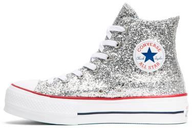 58e616d6a30 Chiara Ferragni x Wmns Chuck Taylor All Star  Lift Silver ...