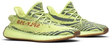 d6b1e4275d4 Yeezy Boost 350 V2  Semi Frozen Yellow  - adidas - B37572