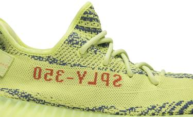 82da122549055 Yeezy Boost 350 V2  Semi Frozen Yellow  - adidas - B37572
