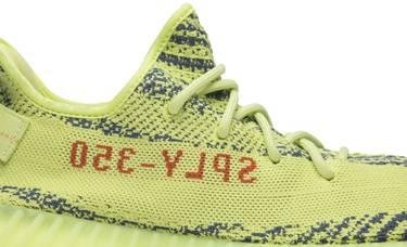816a54172 Yeezy Boost 350 V2  Semi Frozen Yellow  - adidas - B37572
