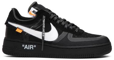 timeless design 7e1d2 c4caa OFF-WHITE x Air Force 1 Low  Black