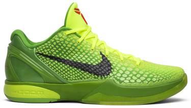 924e334b0b40 Zoom Kobe 6  Grinch  - Nike - 429659 701