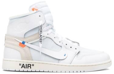 watch 11503 65a36 OFF-WHITE x Air Jordan 1 Retro High OG 'White' 2018