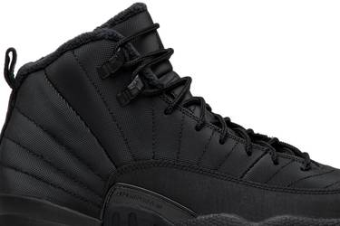 576b52fdf18a Air Jordan 12 Retro Winterized GS  Triple Black  - Air Jordan ...