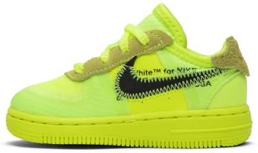 finest selection 86a30 3a216 OFF-WHITE x Air Force 1 Low TD 'Volt'
