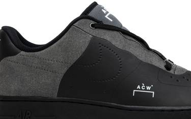 best service 8707c 5e9e1 A-Cold-Wall* x Air Force 1 Low 'Black'