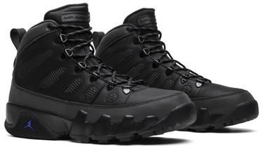 best service f3a53 94588 Air Jordan 9 Retro Boot NRG 'Black Concord'