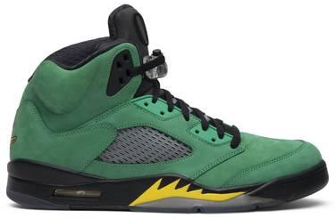 size 40 e7cca e0929 Air Jordan 5  Oregon Ducks