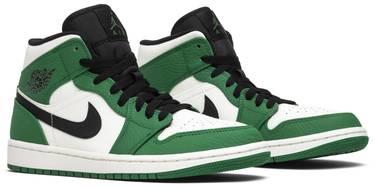 sports shoes 3aaa6 9ed94 Air Jordan 1 Mid 'Pine Green'