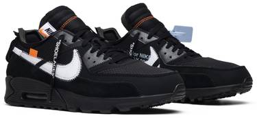 new arrival 9c0df 553d7 OFF-WHITE x Air Max 90 'Black'