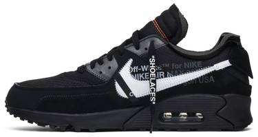 new arrival beeb2 30a4f OFF-WHITE x Air Max 90 'Black'