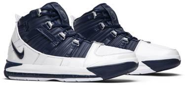 5656b505a0f65 Zoom LeBron 3 Retro  Midnight Navy  - Nike - AO2434 103