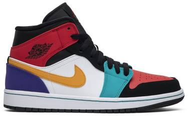 purchase cheap 99bed 0ed5f Air Jordan 1 Mid  Multi-Color
