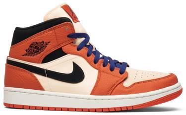 387bb1c4a567 Air Jordan 1 Retro Mid SE  Team Orange  - Air Jordan - 852542 800
