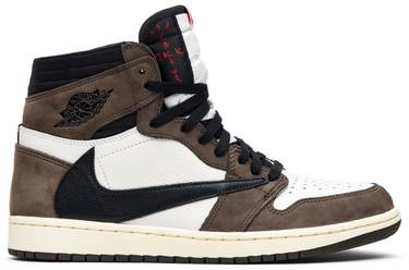 5e75079baeb Travis Scott x Air Jordan 1 Retro High OG 'Mocha' - Air Jordan ...