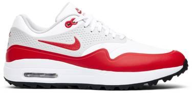 sale retailer 60050 eff6b Air Max 1 Golf  University Red . Nike