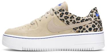 best website 4c383 5d098 Wmns Air Force 1 Sage Low Premium  Leopard