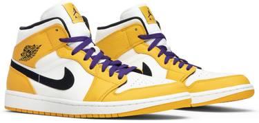 38dc4a744c58 Air Jordan 1 Mid  Lakers  - Air Jordan - 852542 700