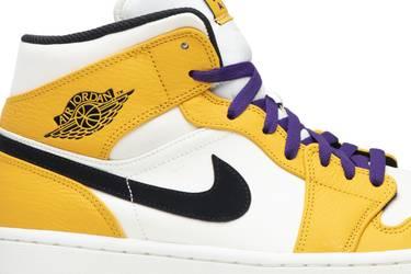 dd8fffcd74f Air Jordan 1 Mid 'Lakers' - Air Jordan - 852542 700 | GOAT