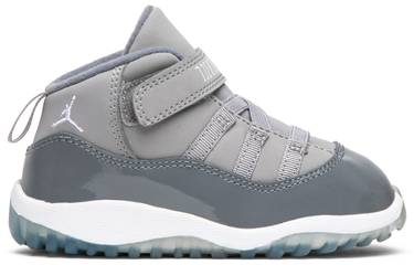superior quality 96aa0 559bd Jordan 11 Retro Toddler 'Cool Grey'
