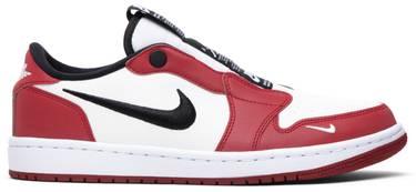 47a62110446a Wmns Air Jordan 1 Low Slip  Chicago  - Air Jordan - BQ8462 601