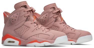 68ff3466cb8778 Aleali May x Wmns Air Jordan 6 Retro  Millennial Pink  - Air Jordan ...