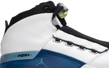newest 12676 11947 Air Jordan 17  College Blue