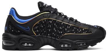 53d22067954c Supreme x Air Max Tailwind 4  Black Cobalt  - Nike - AT3854 001